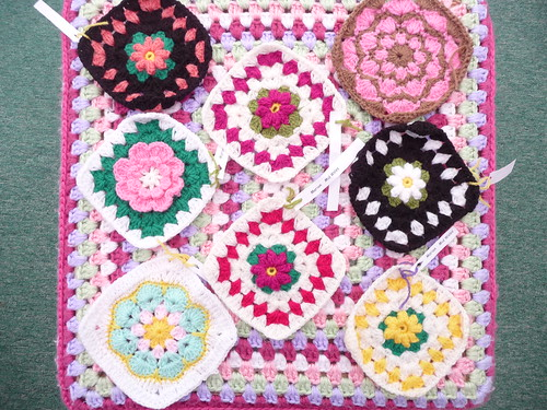 'cosseted' (Marion) Wales Thank you for the Squares! So pretty!