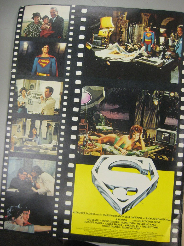 Supes Movie Mag inside cover
