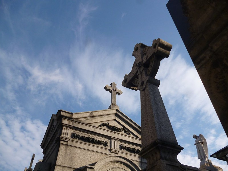 Mausoleums in Recoleta Cemetery