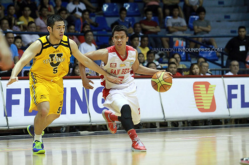 FilOil 2013 Battle for 3rd: San Beda Red Lions vs. UST Growling Tigers