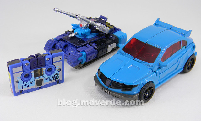 Transformers Rumble - Prime RID - modo alterno vs G1 vs United