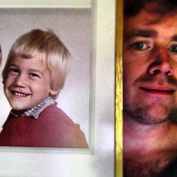 En gång var jag ung och söt haha...