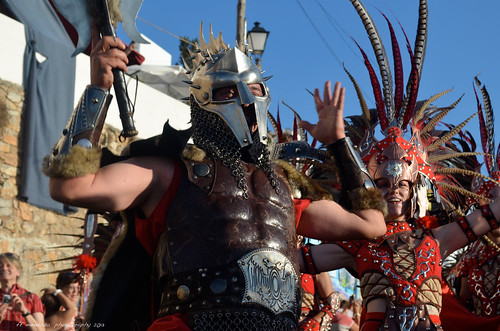 Mojácar 2013/Parade of the Moors & Christians Festival/Almeria Spain by FFMENDOZA -AUSTRALIA