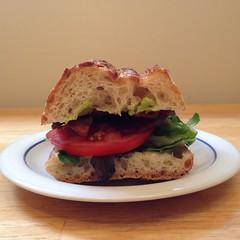 blt, sandwich, meal, lunch, breakfast, vegetable, slider, produce, food, dish, breakfast sandwich, cuisine,