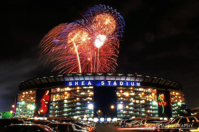 Fireworks Night at Shea Stadium - July 4, 2001