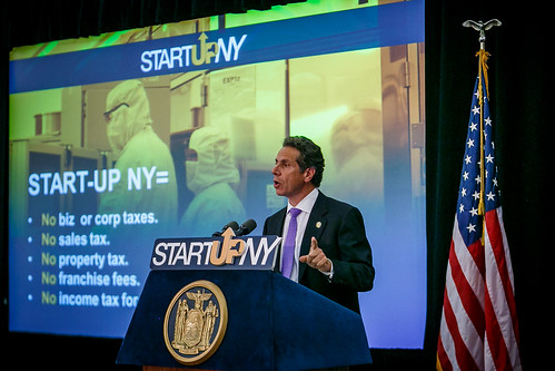 Governor Cuomo Discusses Start-Up NY and Economic Development Agenda in Jamestown