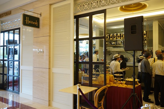 harrods cafe KLCC - tea, scones, sandwiches, cakes 4