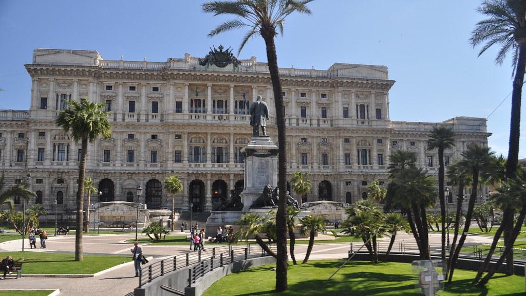 Palazzo di Giustizia (Palace of Justice), Piazza Cavour, Rome, Lazio