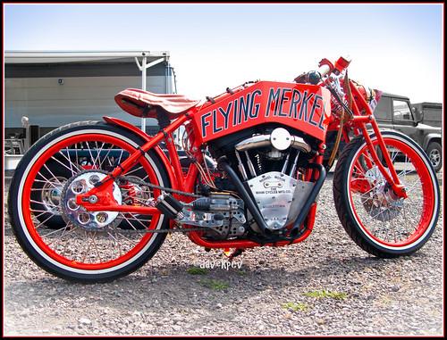 The Flying Merkel Replica Harley-Davidson by davekpcv