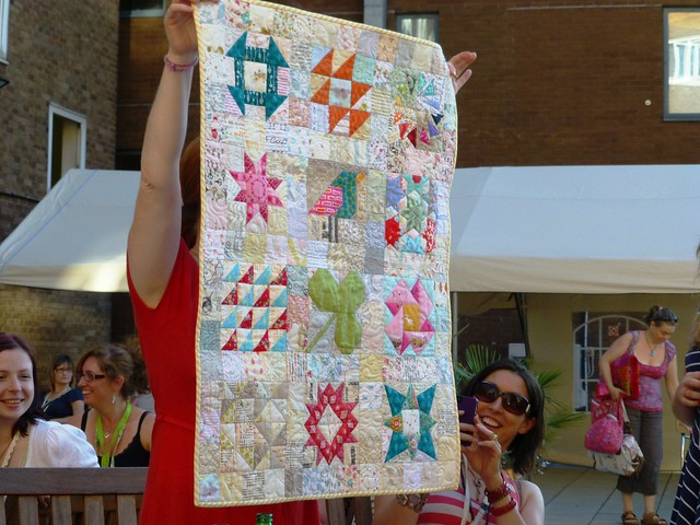 Susan's 50th Wallhanging from Brit Bee