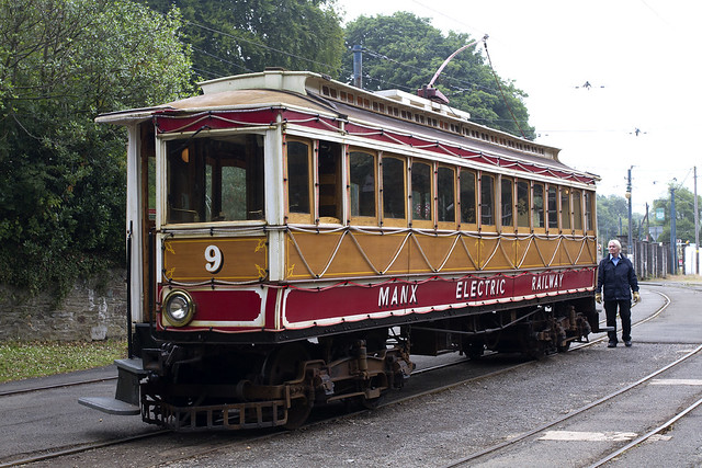 Manx Electoric Railway Car No.9