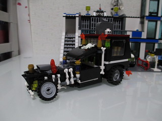 LEGO Monsters hot rod