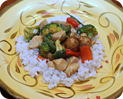 Ginger Chicken Stir Fry