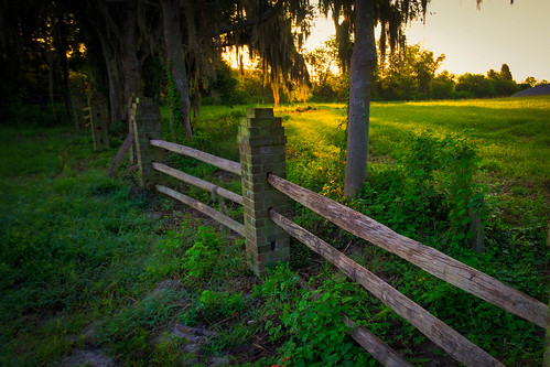 sunrise fence savannahnationalwildliferefuge