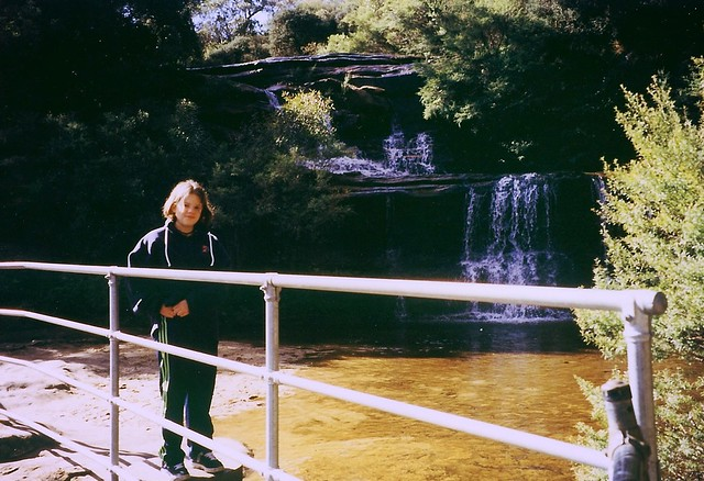 Bushwalking at Wentworth Falls, Blue Mountains