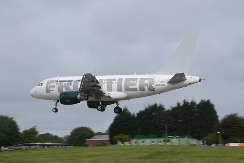 N803FR A318-111 Frontier