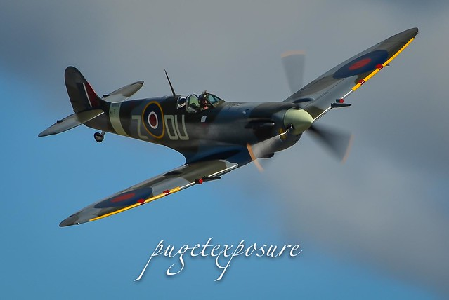 Supermarine Spitfire Mk. Vc Low Pass