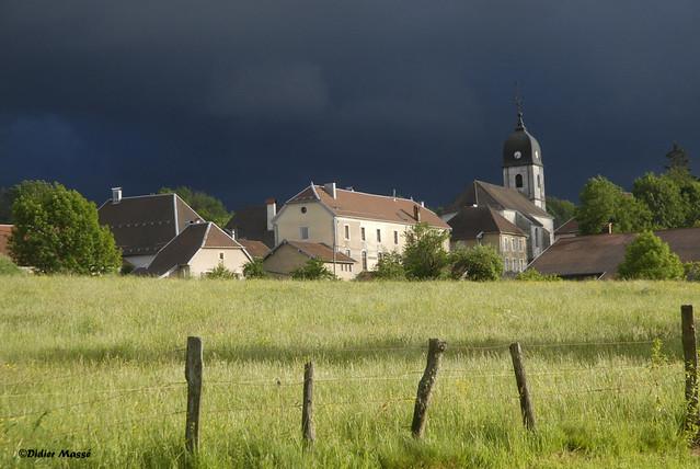 Après l'orage, en Franche-Comté