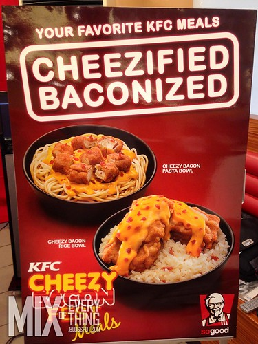 KFC Cheezified Baconized