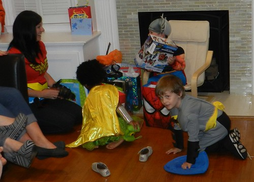 Hudson's Superhero Birthday