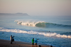 Barrels aplenty for Round 1.