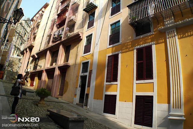 love lane yellow houses