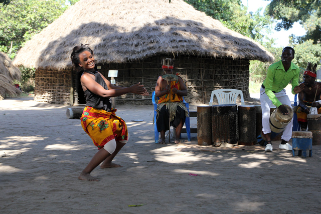 Dancing at the Village Museum