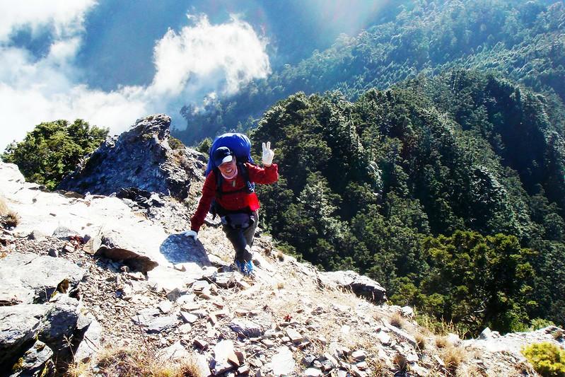 攀登無明山西峰 10