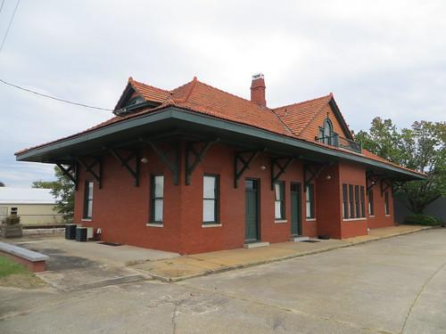 georgia trainstation depot traindepot nrhp elbertcounty posrus ©lancetaylor