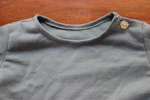 Baby shirt detail