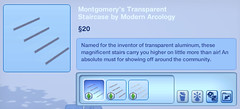 Montgomery's Transparent Staircase by Modern Arcology