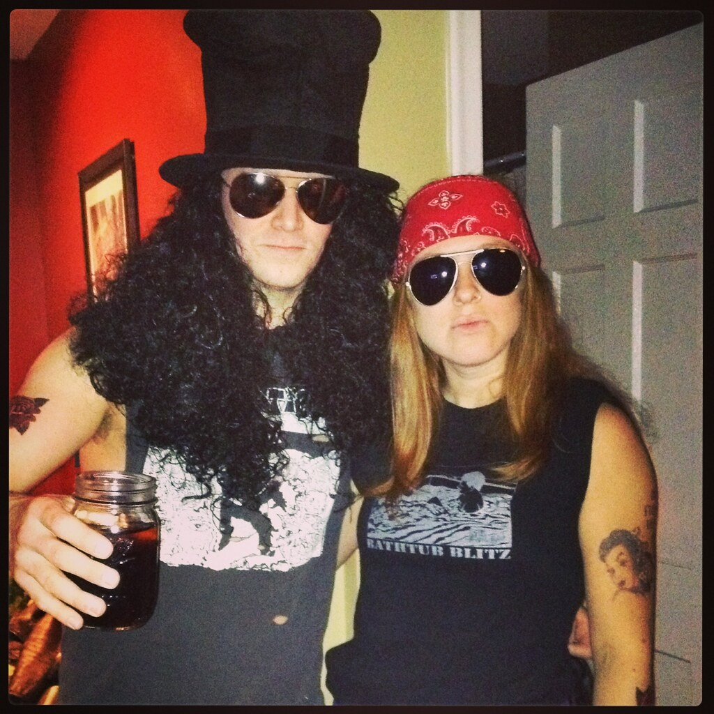 Axl N' Slash costumes