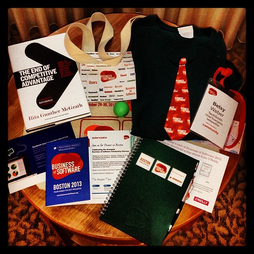 What's in the bag at #BoS2013?
