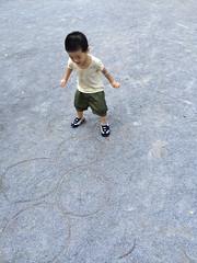 公園で遊ぶ 2013/10