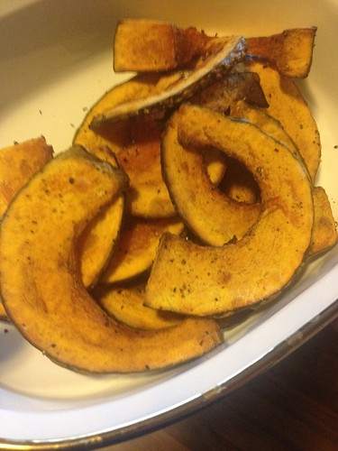 Roasted Japanese Pumpkin