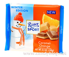 Ritter Sport Winter Edition Caramel-Orange