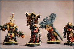 Chaplain Grimaldus with Retinue