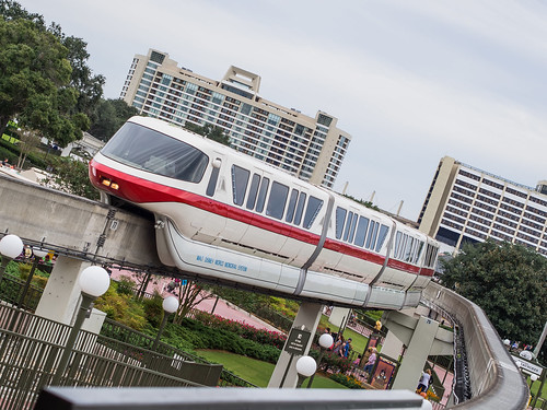 Monorail Monday - Something More Contemporary by Jeff.Hamm.Photography