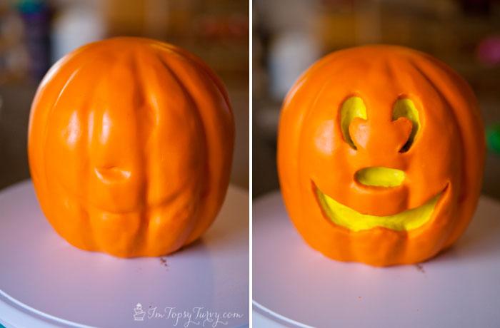 Mickey-mouse-cake-fondant-jack-o-lantern