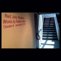 'Red, Juicy Vibrations: Works by Kathryn Usher' open one more month at Meadows Museum on the campus of Centenary College #redjuicyvibrations #centenarycollege