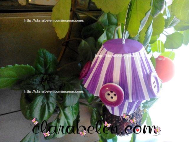 Inspiraciones manualidades y reciclaje diy bola de for Decoracion de navidad casera