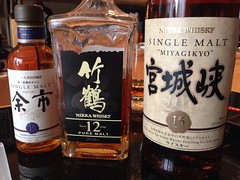 Today\'s whisky vertical - Miyagikyo
