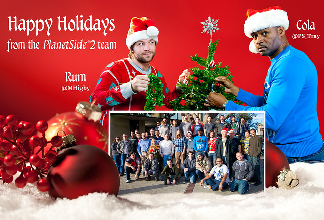 PlanetSide 2 Holiday Card