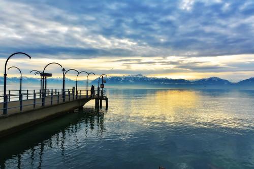 eau soft day cloudy lac monuments léman paysages hdr fabuleuse pwwinter