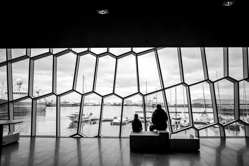 Harpa concert hall Iceland