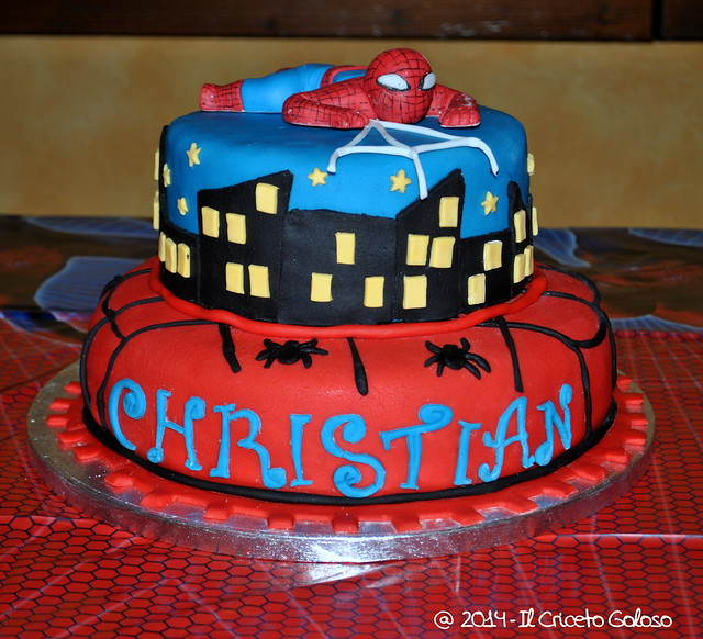 Torta Spiderman 2