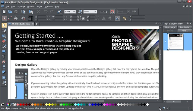 Xara Photo & Graphic Designer 9
