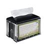 SCA 2297328 Tork Dispenser for Napkins Xpressnap Tabletop Clear / Black