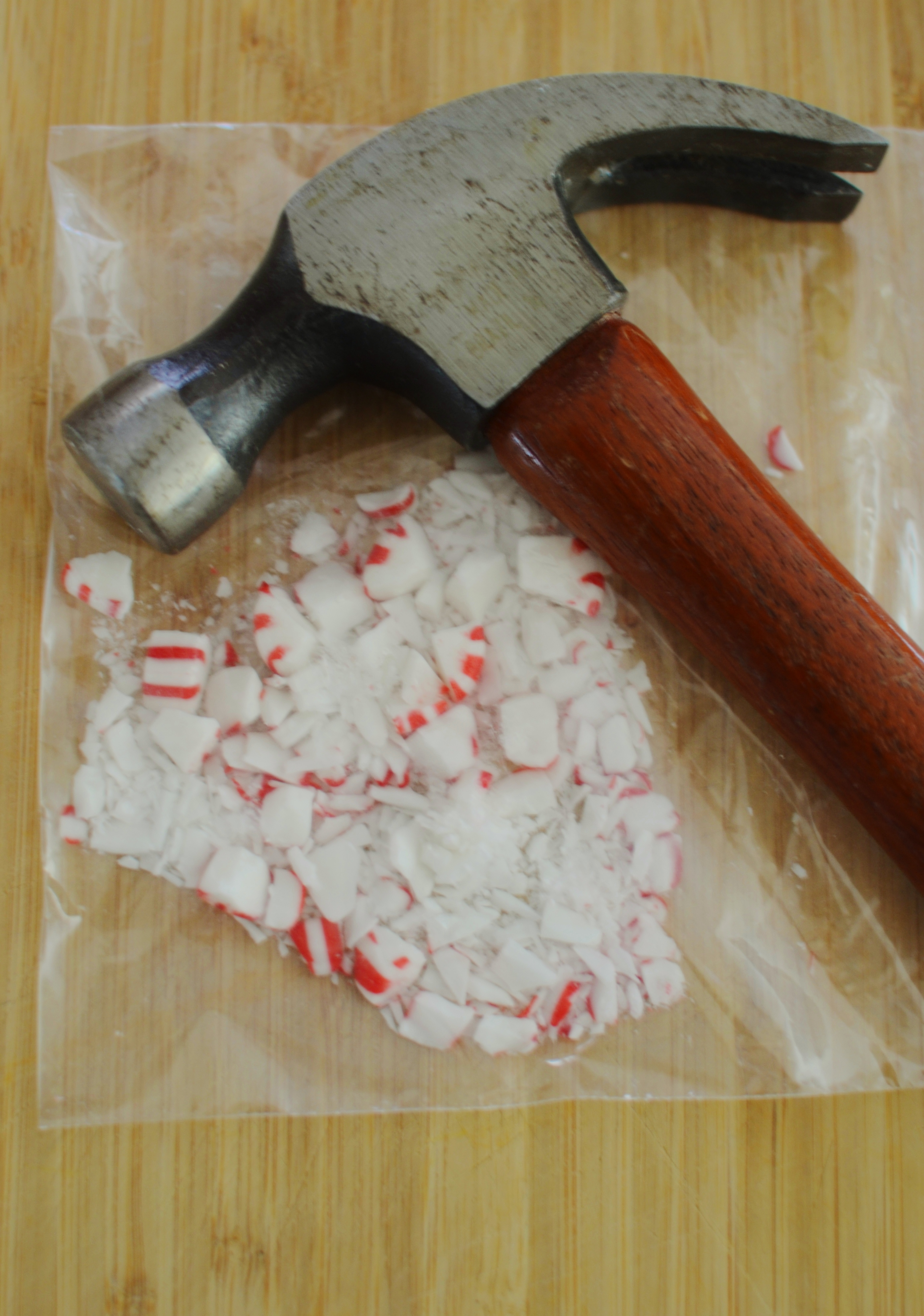 crushed peppermint candies