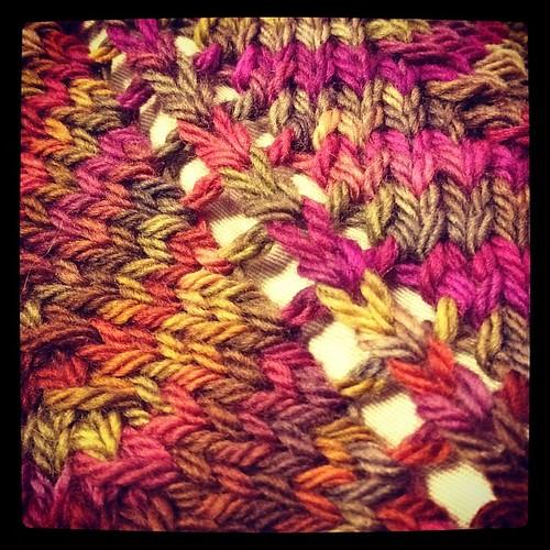 Knittin' along